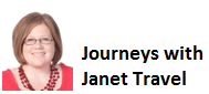 Journeys With Janet Travel Logo