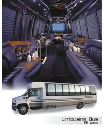 26 Passenger Limo Bus - Ottawa | Robinson Limo